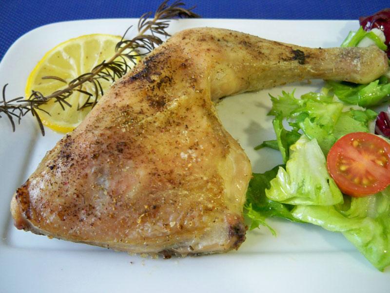 Muslos de pollo al horno - Recetas de Cocina Casera